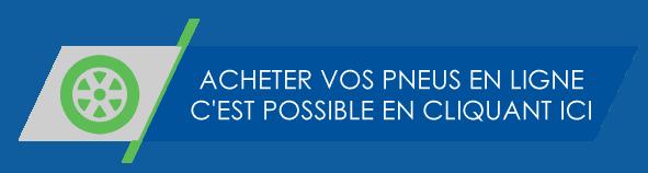Acheter vos pneus en ligne à Saint-Nicolas Lévis Québec
